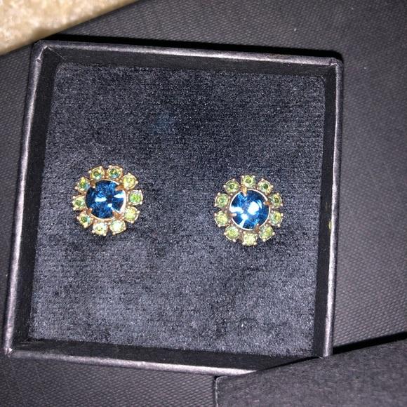 Brand new in box Jcrew crystal studs